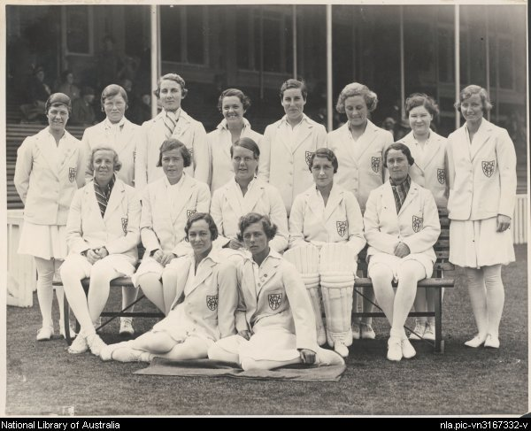 England womens cricket team in 1934 35